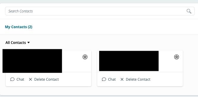 【MeWe移民攻略-Facebook】在右上角的個人頭像中選My Contacts,大家就會一次看到朋友清單,如果想某些朋友成為你的close friends