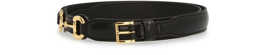 【名牌網購】 款大熱名牌Logo Belt!GUCCI Horsebit belt