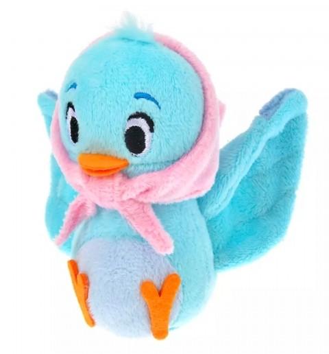 藍色小鳥螢幕擦有著可愛的造型,嬌小的牠頭戴著毛巾,在底下其實隱藏著清潔螢幕的抹布,可放在書桌上隨時清潔電話螢幕。