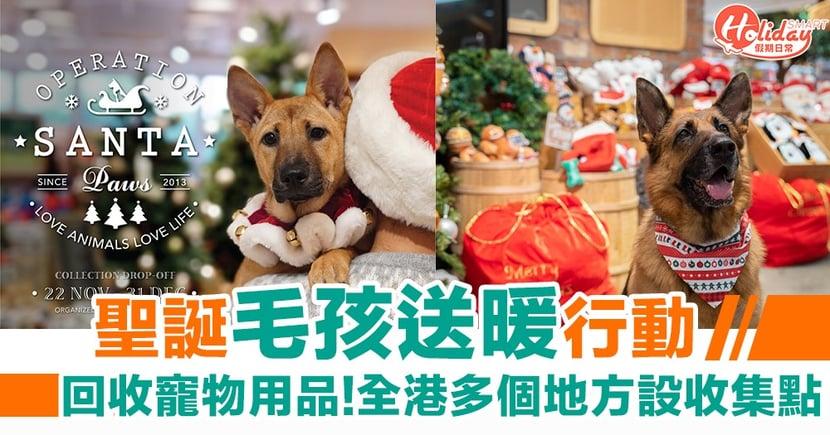 【聖誕好去處2019】聖誕毛孩送暖行動!回收寵物用品、玩具   全港多個地方設收集點