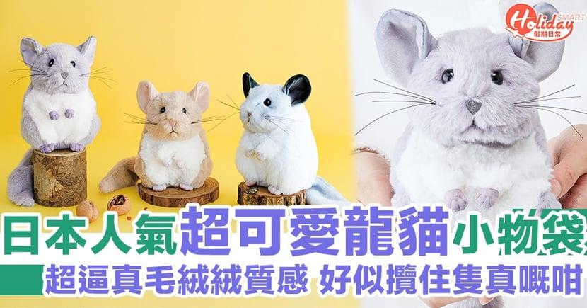 十足攬住真嘅一樣!日本人氣超可愛龍貓小物袋 超逼真毛絨絨質感