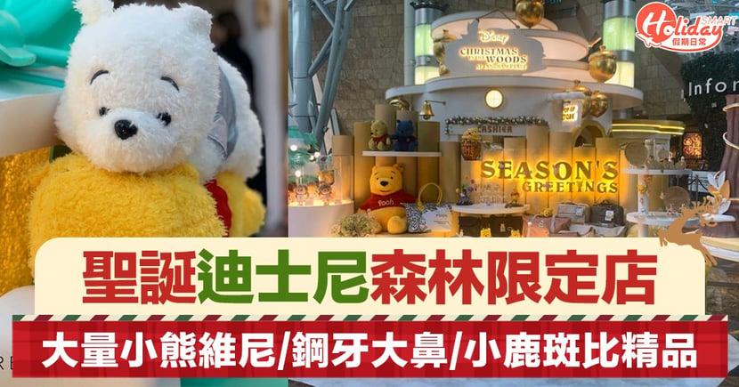 【聖誕好去處2019】迪士尼聖誕森林期間限定店 大量維尼/鋼牙大鼻/小鹿斑比精品