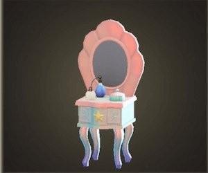 人魚梳妝台