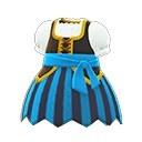 海盜連身裙(藍)