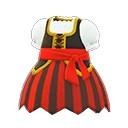 海盜連身裙(紅)