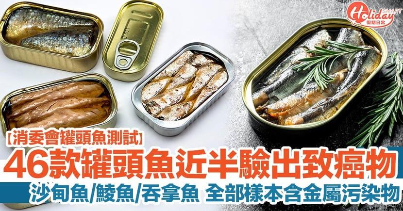 【消委會罐頭魚測試】46款中有12款驗出致癌污染物!沙甸魚/鯪魚/吞拿魚