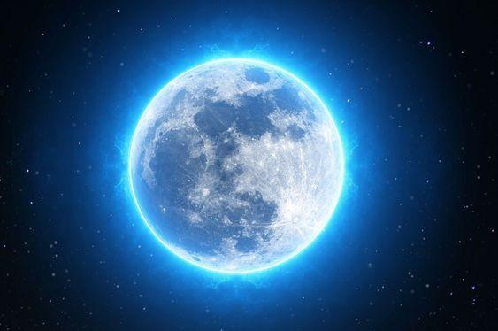 英文「Once in a blue moon」代表非常難得、千載難逢嘅意思。所以「藍月亮」真係好罕見