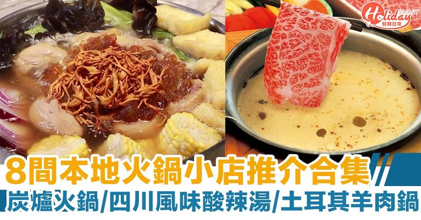 8間本地火鍋店推介合集!炭爐火鍋/四川風味酸辣湯/土耳其羊肉鍋/素菜鍋