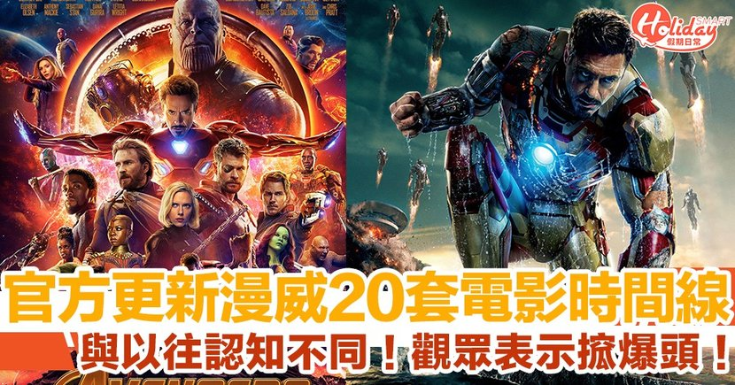 Disney+ 更新Marvel電影時間線 竟同Marvel官方時間表有出入?