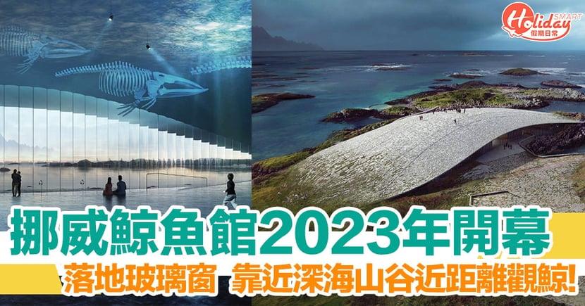 挪威鯨魚館 2023 年開幕 建築獨特可近距離觀賞鯨魚!