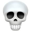要表達「笑」呢個意思,00後表示會用骷髏頭(Skull)