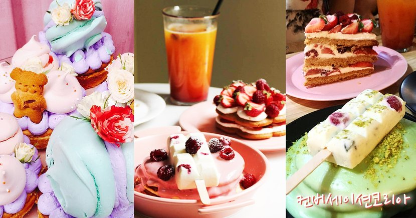 鐵板上的冰棒...與鬆軟熱香餅成最佳組合!首爾超夢幻甜品店!