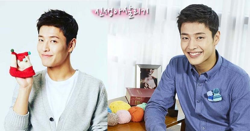 姜河那化身愛心大使宣傳~韓國救助兒童會織冷帽套裝熱售中!