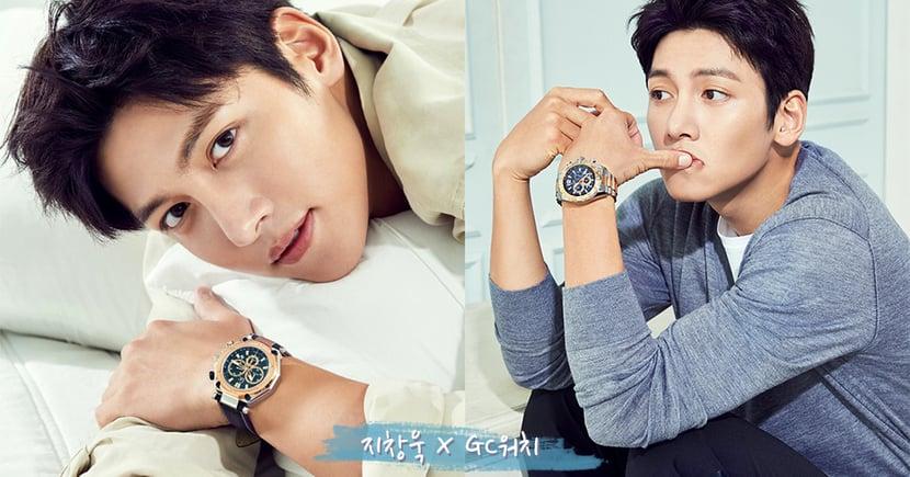 是時候換桌布了!讓人心動的眼神~昌旭OPPA魅力十足的手錶廣告照來了!