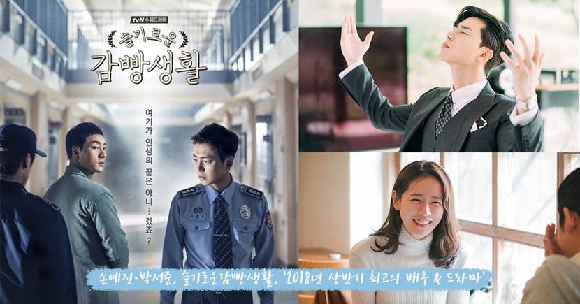 韓國網友票選「2018上半年最佳演員&電視劇」朴敘俊和孫藝珍獲選第一名,最佳電視劇竟然是這部!