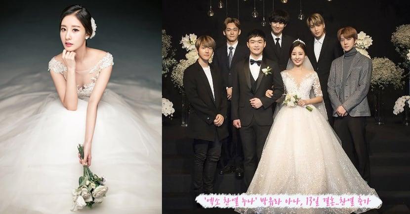 EXO燦烈的美女主播姊姊結婚了!燦烈緊牽姊姊的手、深情獻唱祝歌,姊弟感情超好羨煞旁人~