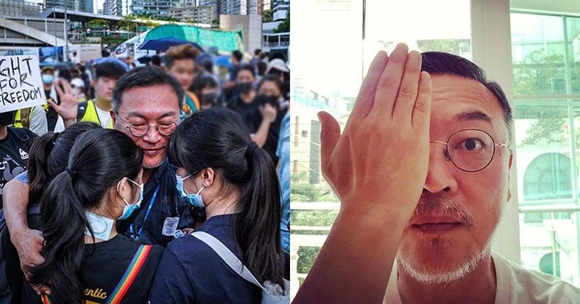 韓演員金義聖現身香港示威遊行!獲得港台韓民眾關注,「想鼓勵香港人,和大家站在一起」⋯
