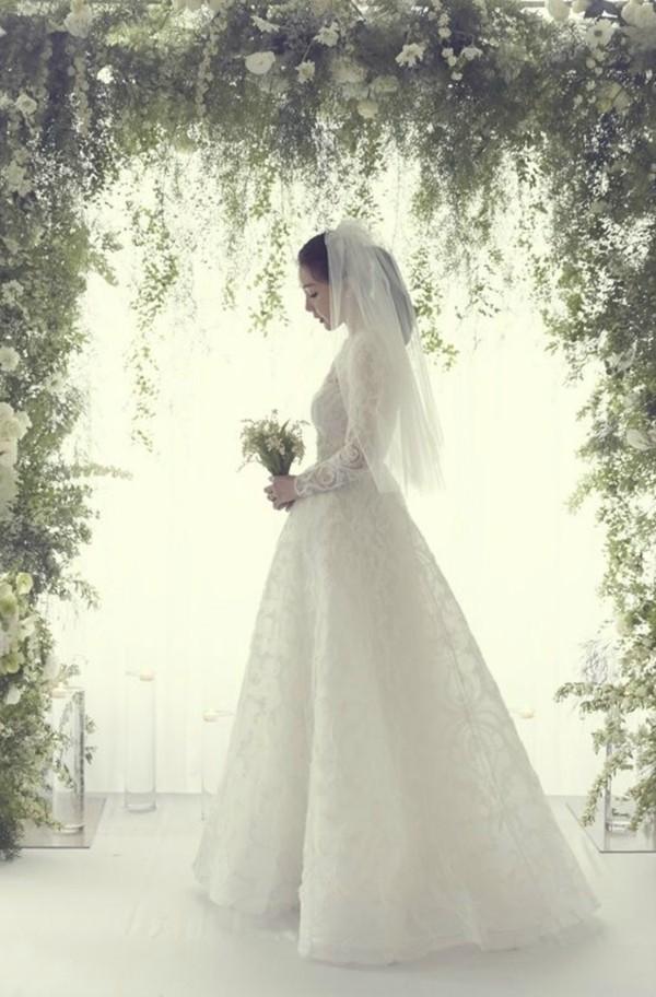 崔智友婚紗