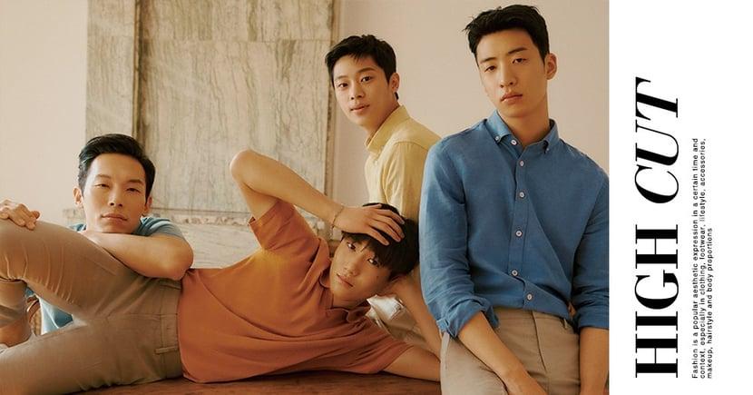 「北韓F4」楊慶元、李新英、劉秀彬、唐俊尚合體拍攝畫報!4人4種帥氣♥
