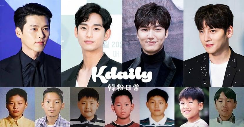 韓男星童年照公開/各家男神都有崩壞的「小屁孩時期」!你認得出來幾個?