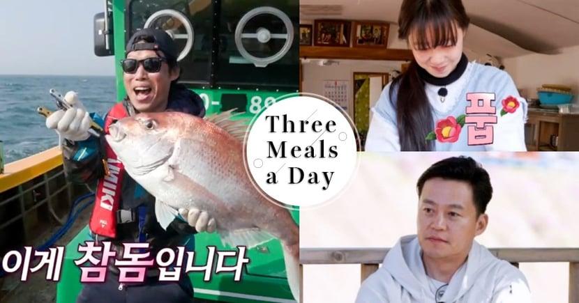《一日三餐》創下最高收視率TOP3瞬間公開!李瑞鎮、孔曉振包辦一二名~