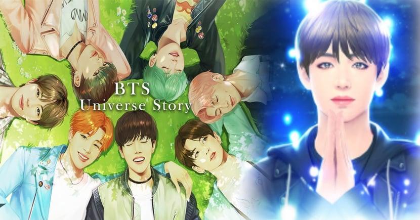 BTS Universe Story推出,創作出與防彈少年團專屬的花樣年華故事!