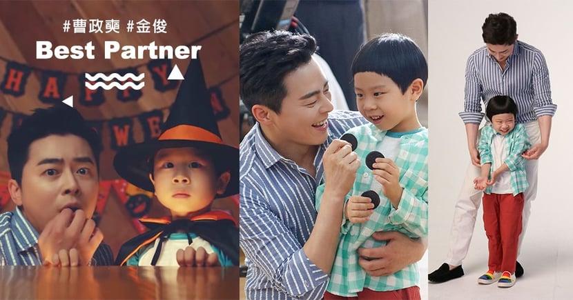 《機智醫生生活》曹政奭、金俊廣告花絮照公開!「李氏父子」宇宙最可愛♥