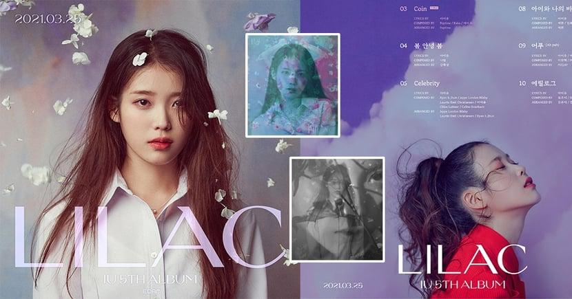 IU第五張正規專輯《LILAC》曲目公開!超強製作陣容打造夢幻樂譜