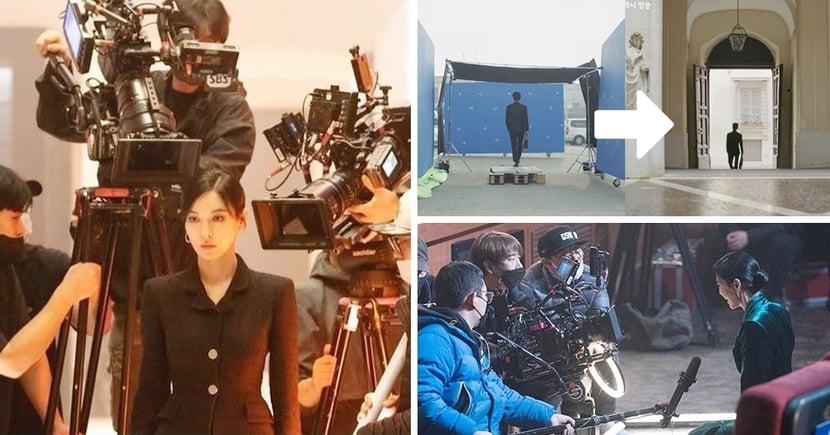 感覺到演員真的很了不起的韓劇拍攝現場!金素妍被攝影機貼臉拍也照飆演技,綜藝界更誇張...
