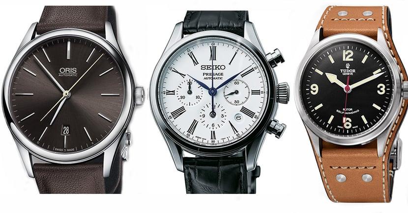 3枚有型有款,價格合理的精品男士腕錶