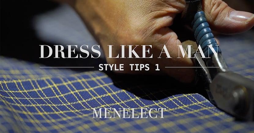 《DRESS LIKE A MAN》Style Tips 1 : 身在香港,如何挑選西裝質料