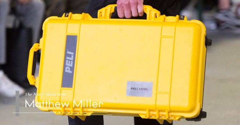 【無堅不摧】攝影師最愛的行李箱登上時尚舞台?Matthew Miller如何改造Peli?
