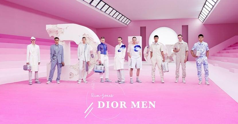 【粉紅沙漠】Dior Men的時代見證!Kim Jones攜手Daniel Arsham演繹文明脆弱的魅力!