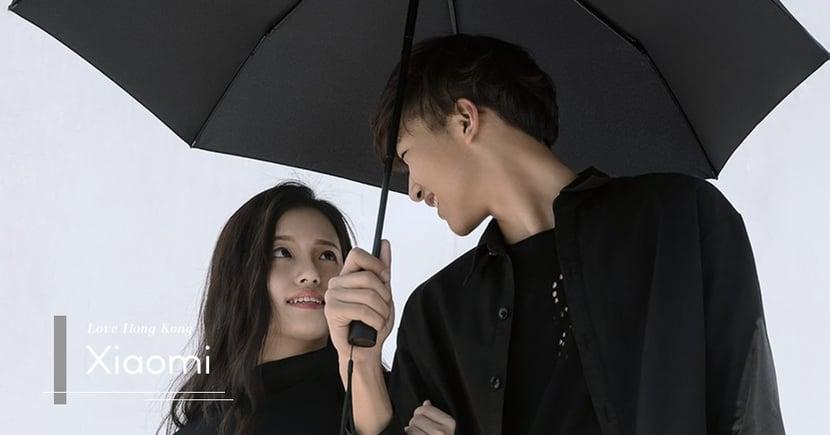 【中國武器】Xiaomi推出雨傘?社交媒體上載黑色衣服的「暴徒情侶」宣傳?