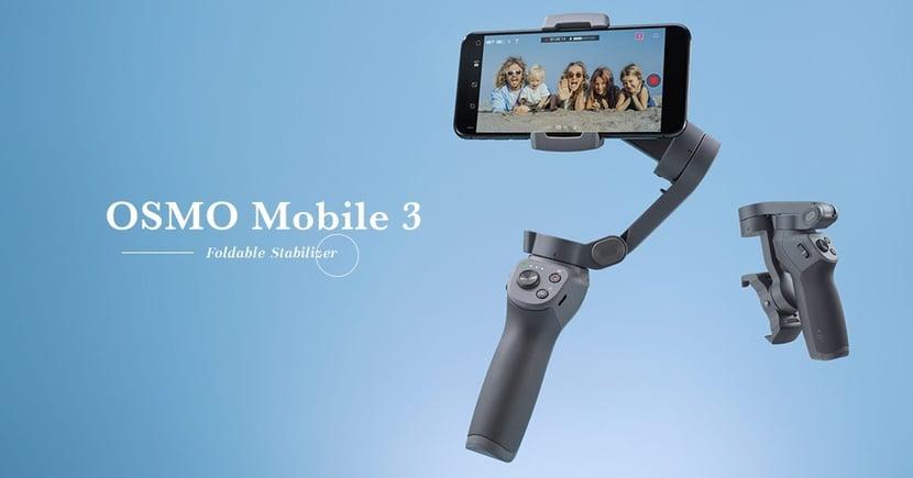 【再度升級】手機雲台龍頭再發功!OSMO Mobile 3全新折疊設計提升便攜性!