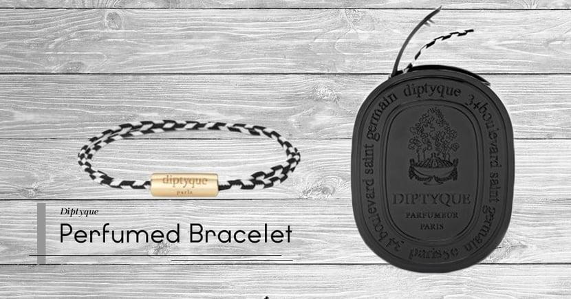 【一物二用】時尚與香氣合二為一!法國老字號Diptyque推出全新男仕香水手繩!