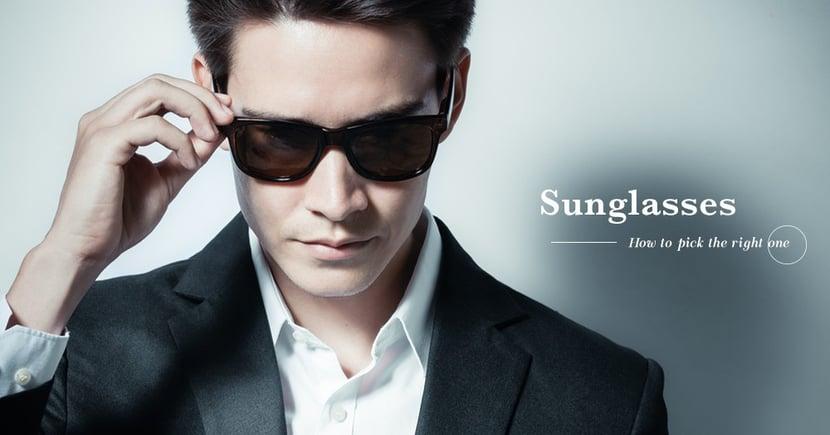 【正確配搭】不同臉型應該如何搭配太陽眼鏡?選擇鏡框時也有禁忌?