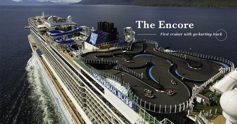 【男仕假期】世界最大的船上高卡車賽道!郵輪上也能感受速度帶來的快感!