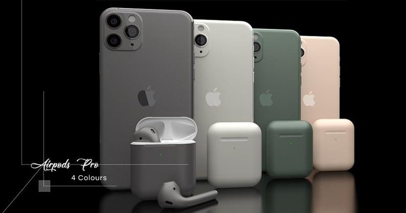 【傳聞不斷】入耳式AirPods Pro最快於本週發佈!四種配色與iPhone系列同步登場!