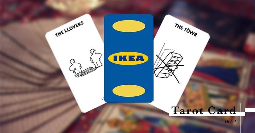【創意無限】IKEA概念風靡全球!美國設計師二次創作塔羅牌!