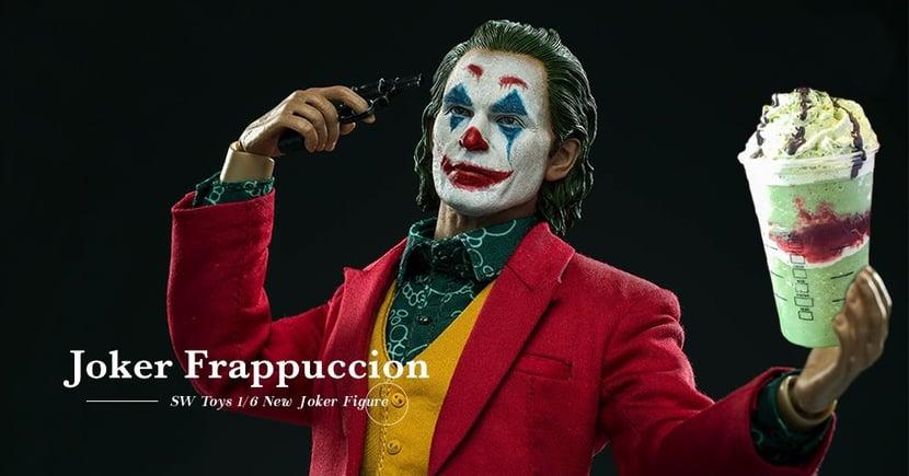 【小丑週邊】Starbucks隱藏飲品竟與Joker有關?SW Toys推出1:6電影版珍藏人偶!