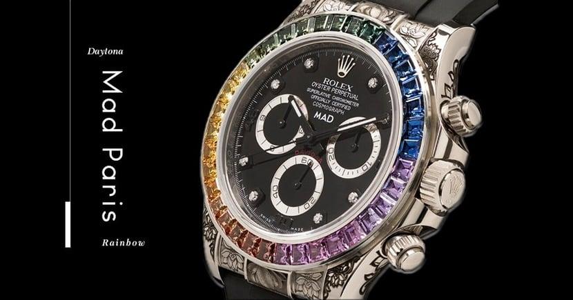 【低調黑魂】收儉過後的「彩虹圈」?MAD Paris定製版Rolex Daytona現身!