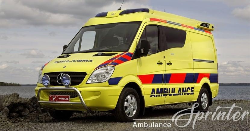 【十萬火急】實測救護車極速!2004 Mercedes-Benz Sprinter挑戰德國無限速公路!