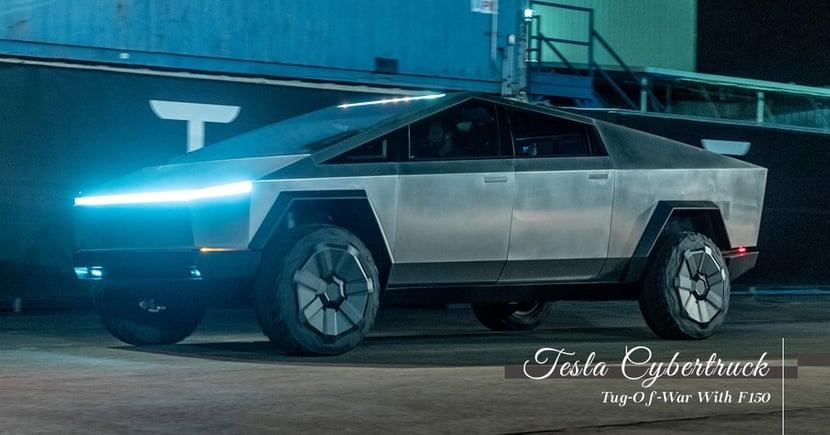 【Tesla Cybertruck vs. Ford F-150 】Tesla Cybertruck挑戰F-150 ...