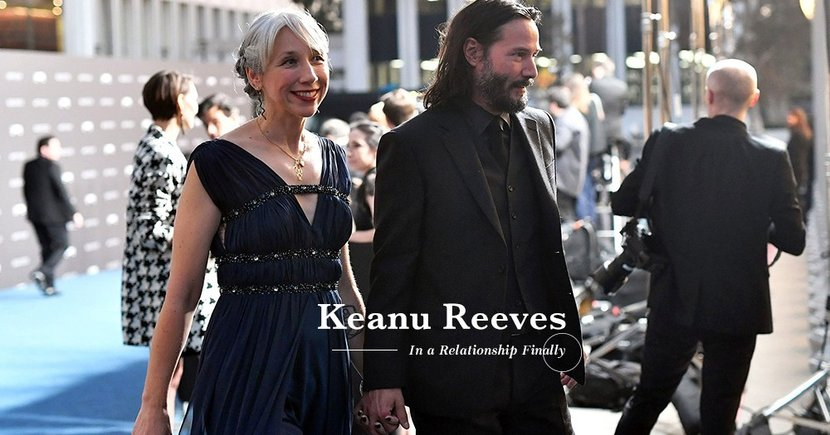 【最慘明星】脫離二十年孤獨的陰影?Keanu Reeves終承認戀情?