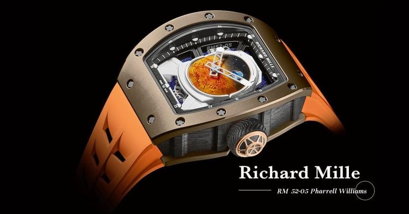 【浩瀚無邊】宇航級工藝打造!Richard Mille聯乘Pharrell Williams推出RM 52-05陀飛輪腕錶!