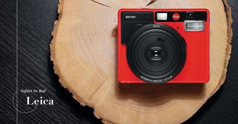 【紅色聖誕】Leica推出紅色Sofort系列!捕捉聖誕的動人時刻!