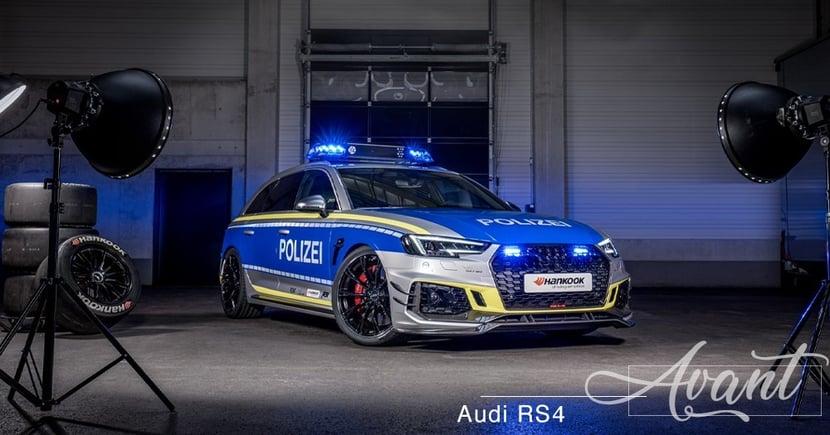 【警隊戰車】快不代表不安全!ABT狂改RS4 Avant協助警方維持治安!