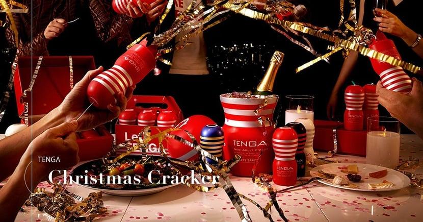 【普天同慶】聖誕交換禮物必備之選!TENGA推出飛機杯造型別注拉炮!