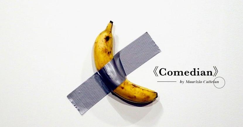 【裝置藝術】另有含意的現代藝術?香蕉加牛皮膠紙竟叫價高達一百萬元!